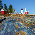 Pemaquid Point Lighthouse  by Tim Kathka