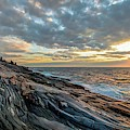 Pemaquid Point Sunrise by Harriet Feagin