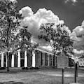 Penfield Baptist Church 7 B W Baptist Church Art by Reid Callaway