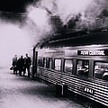 Penn Central Train At Grand Central by Alfred Gescheidt