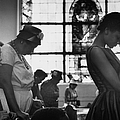 People Praying For Freedom Riders.  Pho by Paul Schutzer