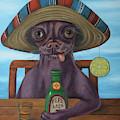 Pepe Loco   by Leah Saulnier The Painting Maniac