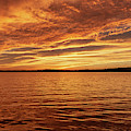 Percy Priest Lake Sunset by D K Wall