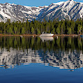 Perfect Jackson Lake Reflection by Dan Sproul