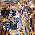 Perseus And The Sea Nymphs 1877 by BurneJones Edward