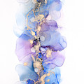 Petals And Dots Abstract Painting by Alissa Beth Photography