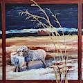 Phil And Alice Navajo Sheep    38 by Cheryl Nancy Ann Gordon