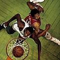 Philadelphia 76ers V Boston Celtics by Ronald C. Modra/sports Imagery