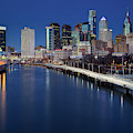 Philadelphia Skyline At Twilight by Susan Candelario