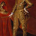 Philip Iv In Parade Armor by Gaspar de Crayer