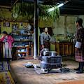 Phobjikha Farmhouse, Bhutan by Ian Robert Knight