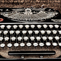 Vintage Remington Typewriter, Old Typewriter, Antique by David Millenheft