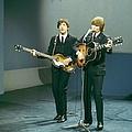 Photo Of John Lennon And Paul Mccartney by David Redfern