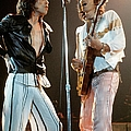 Photo Of Keith Richards And Mick Jagger by Fin Costello