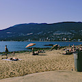 photograph of thid beach which is located in Stanley Park Vancouver. Third beach is a popular location for tourists and locals alike. by Kaleb Kroetsch