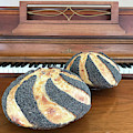 Piano And Poppy Seed Swirl Sourdough 1 by Amy E Fraser