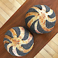 Piano And Poppy Seed Swirl Sourdough 2 by Amy E Fraser