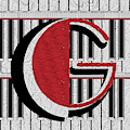 Piano Deco Monogram G by Cecely Bloom