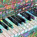 Piano Keyboard - Play That Funky Music by Peggy Collins