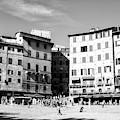Piazza Del Campo Days In Siena by John Rizzuto