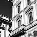 Piazza Della Repubblica Building Lines In Florence by John Rizzuto