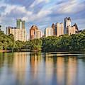 Piedmont Park Morning And Atlanta Skyline by Gregory Ballos