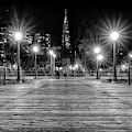 Pier 7 In Black And White by Kristen Wilkinson