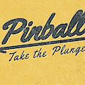 Pinball Take The Plunge by Edward Fielding