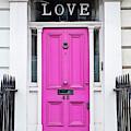 Pink Love Door by Tim Gainey