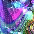 Pink Triangle Fractal by Cindy Boyd