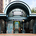 Pioneer Square Station Seattle Washington R1497 by Wingsdomain Art and Photography
