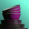 Plates And Bowls by Terry Mccormick