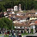 Plaza De Armas And San Cristobal Church Cusco Peru by James Brunker