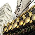 Plaza Hotel Lights New York City by John Rizzuto