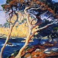 Point Lobos Trees 1919 by Guy Rose