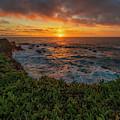 Pomo Bluffs Sunset - 2 by Jonathan Hansen