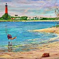 Ponce Inlet Lighthouse by AnnaJo Vahle