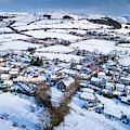 Pontrhydfendigaid Wales In The Snow by Keith Morris