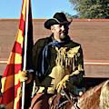 Pony Express Flag Bearer by Matalyn Gardner