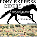 Pony Express Want Add by Lisa Redfern
