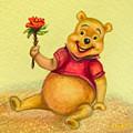 Pooh Bear by Zina Stromberg