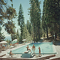 Pool At Lake Tahoe by Slim Aarons