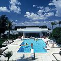 Pool In Palm Beach by Slim Aarons
