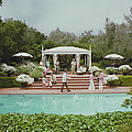 Poolside Drinks by Slim Aarons