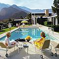 Poolside Glamour by Slim Aarons