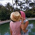 Poolside Secrets by Slim Aarons