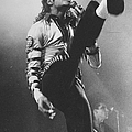 Pop Star Michael Jackson Gets His Kicks by New York Daily News Archive