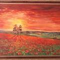 Poppy Field by Kateryna Kostiuk-Shostka