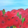 Poppy Parade by Karen Jane Jones
