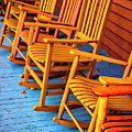 Porch Rocking Chairs by Garry Gay